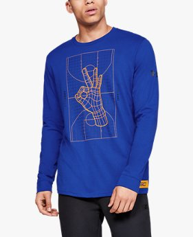 Men's SC30 Trey Okay Long Sleeve T-Shirt